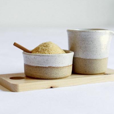 White Milk & Sugar Set 250ml