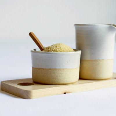 White Milk & Sugar Set 150ml